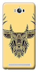 Mott2 Back Case for Asus Zenfone Max | Asus Zenfone MaxBack Cover | Asus Zenfone Max Back Case - Printed Designer Hard Plastic Case - Tribal pattern theme