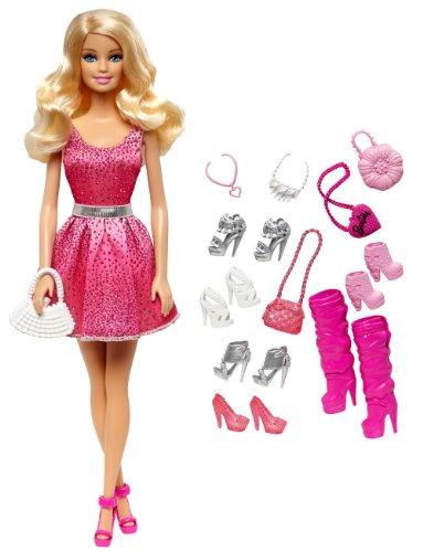 Barbie Mattel CDB20 - Schuhkollektion Geschenkset