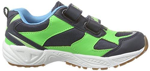 LicoBob Vs - Scarpe Sportive Indoor Bambino Grün (gruen/marine/blau)