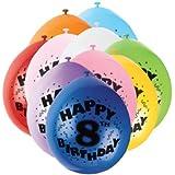 unique Air - Age 8 Balloons