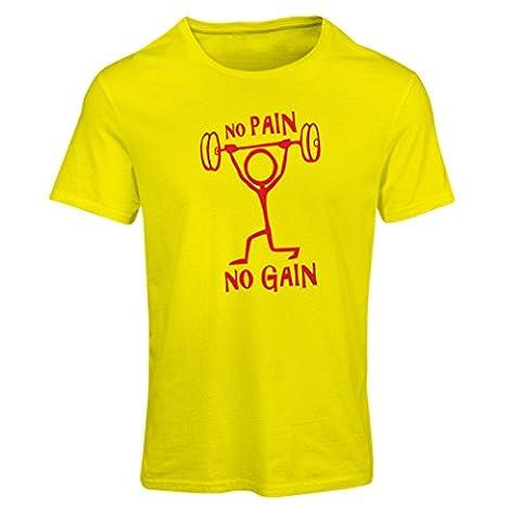 T-shirt femme No Pain No Gain - vêtements pour le