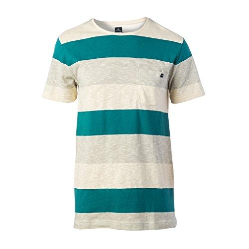 Herren T-Shirt Rip Curl Three Faze T-Shirt Dragonfly