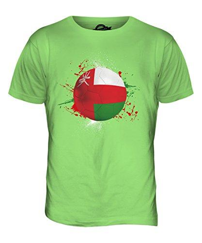 CandyMix Oman Fußball Herren T Shirt Limettengrün