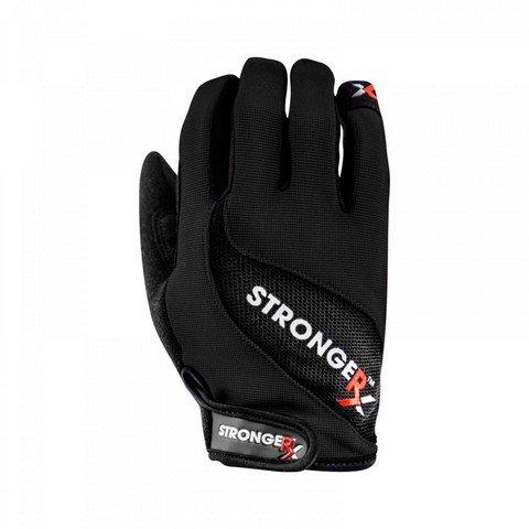 StrongerRx 3.0 WOD Fitness Handschuhe (Schwarz, Large)
