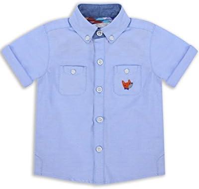 The Essential One - Bebé Infantil Niños Camisa - Azul - EOT250
