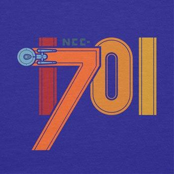 NERDO - NCC-1701 - Herren T-Shirt Marine