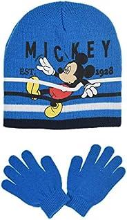 Mickey Mouse Niños Set Gorros Guantes