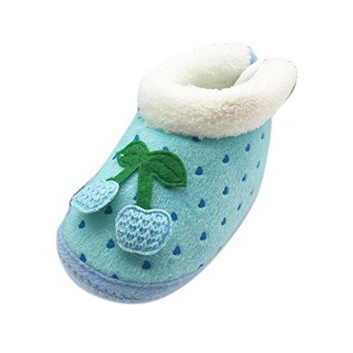 Tefamore neugeborenen Kinder halten Warm Prewalker weiche Sohle Schuhe Blau