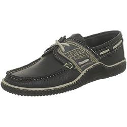 TBS - Globek - Chaussures Bateau - Homme - Bleu (Marine/Froment D12) - 43 EU