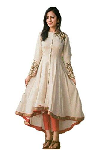 new latest for women for party wear kurti   wedding wear kurti...