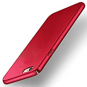 Moto G5 Back Cover, Johra 4 Cut All Sides Protection Sleek Ipaky Red Hard Case Back Cover For Moto G5 Back Cover