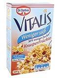 Dr. Oetker Vitalis weniger süß Knusper Früchte 500g