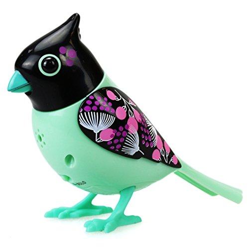 Silverlit 88296 - Digi Bird Cardinal mit Käfig, Elektronische Haustier