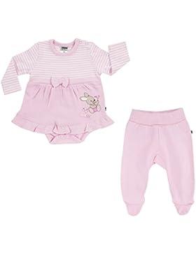 JACKY Baby Mädchen Serie BUNNY Jeans Kleid Strampler Bodies Sets Schlafsäcke