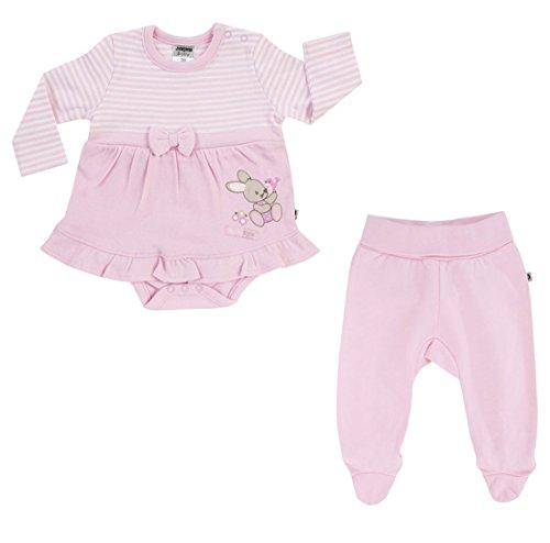 Jacky Baby Mädchen Serie BUNNY Jeans Kleid Strampler Bodies Sets Schlafsäcke Größe 74 (Kleid Babys Bunny Für)