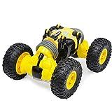 Bescita Ferngesteuertes Auto RC 4WD RC Car Hochgeschwindigkeit 2.4Ghz Fernbedienung Racing Rennauto Auto Spielzeug Fahrzeug mit Aufladbaren Batterien RTR Spielzeug NEUZ (Gelb)
