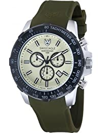 Swiss Eagle Reloj de cuarzo Man Herzog Verde 45 mm