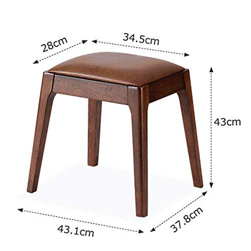 Gbxx moda creativa piccola mobilia sgabello antiscivolo semplice moderna sgabello spogliatoio casa in legno massiccio tessuto poggiapiedi decorazione domestica tavolo sgabello multifunzione famiglia