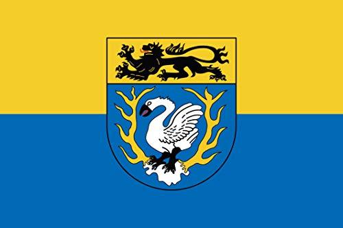 UB Aufkleber Städteregion Aachen 15 cm x 10 cm Flagge/Fahne (Autoaufkleber)