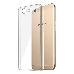 Oppo F1s Cover Clear Transparent Flexible Soft TPU Slim Silicon Back cover for Oppo F1s