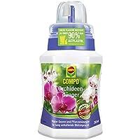 Compo Fertilizantes orquídeas, Fertilizante flores con suave Compo Guano y pflanzenenzymen, para Largo persistente Belleza Floral, 250 ml