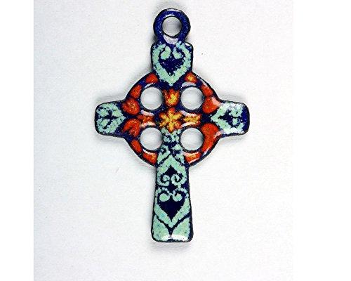 pendentif-croix-celte-vert-rond-rouge-email-sur-cuivre