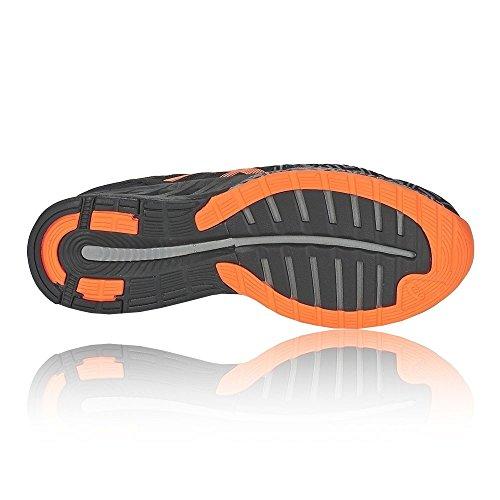Asics FuzeX, Chaussures de Running Compétition Homme Black/Orange - 11 UK