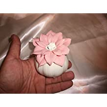 Profumatore in porcellana fiore rosa - Bomboniere Matrimonio / Anniversari