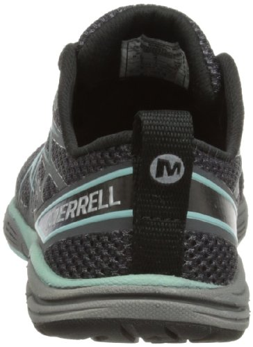 Merrell Road Glove Dash 3, Chaussures de running femme Multicolore (Black/Eggshell Blue)