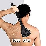 Körper Rasierer Zurück Haarentfernung Langen Griff Für Ihre Eigenen Hände Rasierer Für Trocken Und Nass Verwenden Sie Den Rücken Rasierer, Um Die Dekoration Einfach Zu Machen