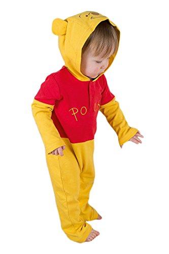 Winnie Pu Bär Babykostüm 0-3 Monate / - Pooh Der Bär Kostüm