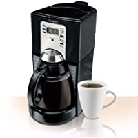 Mr. Coffee FTX Series Programmable Coffeemaker, Black