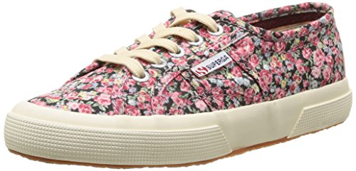 Superga 2750 Cotu Fabric, Baskets mode mixte adulte Multicolore (A64 Flowered Red Box)