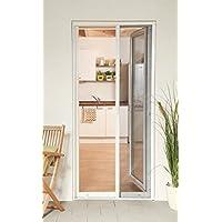 Insektenschutz Fliegengitter Rollo Tür Insektenschutzrollo SMART weiß, braun oder anthrazit 160 x 220 cm