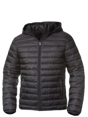 Mens Lightweight Padded Jacket with Detachable Hood,Very Roomy ...