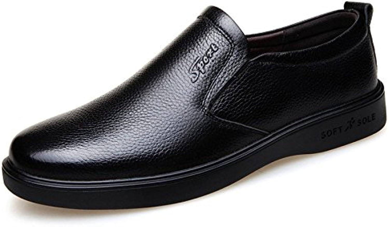De Mediana Edad Transpirable Zapatos De Papá Primavera Zapatos De Hombre Antideslizantes Pies De Ajuste Zapatos... -