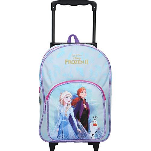 Elsa Eiskönigin Trolley Koffer Kinderkoffer Rucksack Kindertrolley Handgepäck Mädchen Prinzessin Disney Frozen