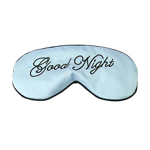 Bodhi2000 Schlafmaske aus Seiden-Satin, weicher Augenschutz für Nachtschlafen, Reisen, Nickerchen