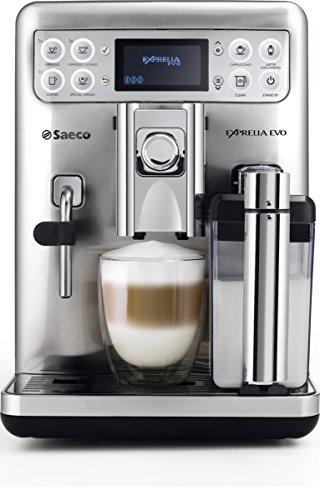 Saeco HD8858/01 Macchina Espresso automatica Exprelia Evo Acciaio Inox