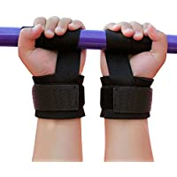 EVOLUXO Zughilfen für Krafttraining, Bodybuilding und Fitness (1 Paar) Gepolstert und Rutschfest mit Klettverschluss... preisvergleich bei billige-tabletten.eu