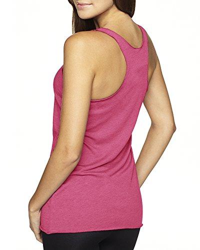 Next Level Apparel tri-blend Tank Top Racerback für Damen Vintage Pink