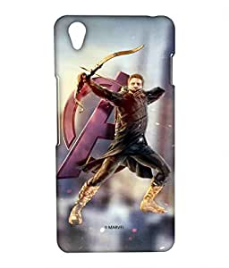 Super Hawk Phone Cover for Oneplus X by Block Print Company