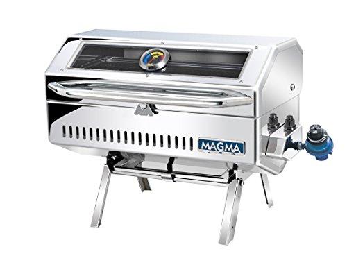 Magma Produkte, A10-918-2GS Newport 2Infrarot Gourmet Series Gas Grill, Edelstahl poliert -