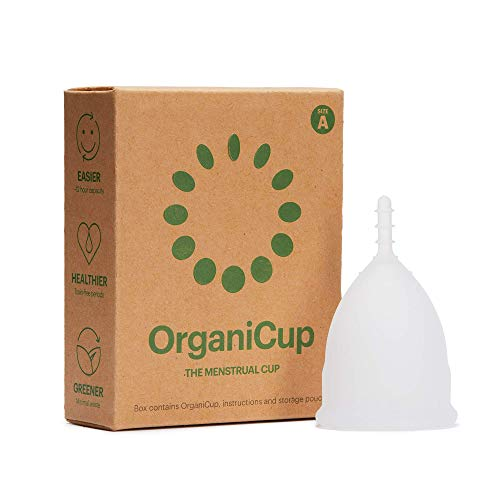 Copa menstrual OrganiCup - Talla A/pequeña - Ganadora