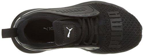 PUMA Unisex-Kids Limitless AC PS Sneaker  Black White  1 M US Little Kid