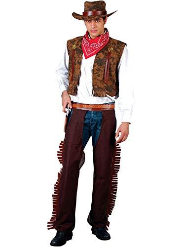 Herren Cowboy Western Kostüm (Standardgröße)