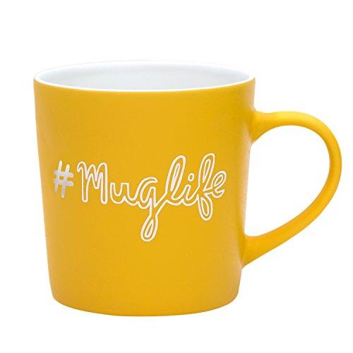 Hashtag muglife Kaffeebecher aus Keramik 18oz