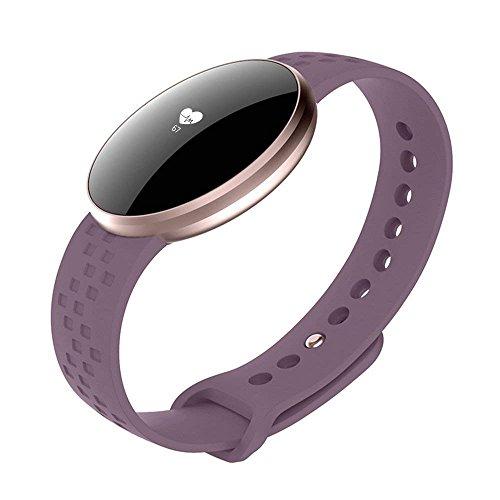 Reloj inteligente - Pulsera inteligente para mujeres Ejercicio físico rastreador Reloj deportivo Reloj de control remoto Reloj de salud Podómetro GPS Bluetooth Ritmo cardíaco Monitoreo del sueño Panta