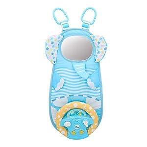 winfun - Volante de simulación para bebés con luces y sonidos (46318)
