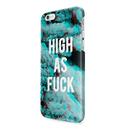 High As Fuck Clouds Tumblr Acid Sky Good Vibes Hard Snap-On Protective Case Cover For Iphone 6 / Iphone 6S
